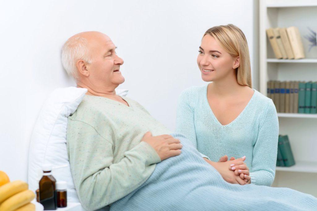 Уход за больными старше 80 лет