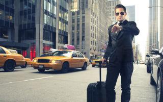 Особенности оплаты такси в командировке в 2019 году