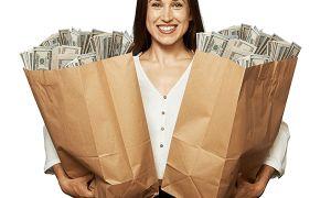 Уровень средней зарплаты наемных работников в США