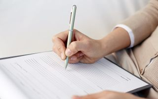 Порядок составления анкеты при приеме на работу