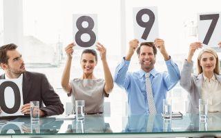 Порядок определения критериев оценки персонала