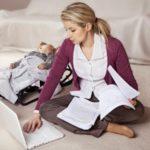 Работа в домашних условиях не выходя в отпуска по уходу за ребенком