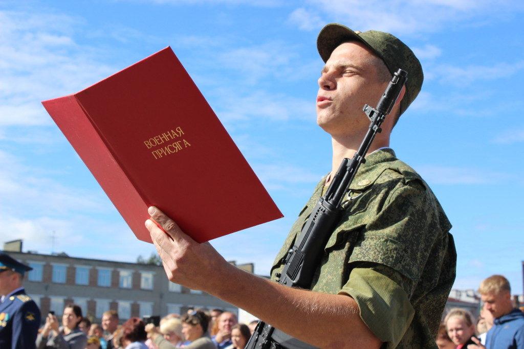 Запись о службе в армии