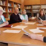 Результаты проверки анализируют на члены комиссии