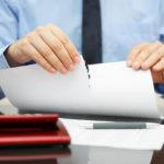 Расторжение контракта за грубые нарушения