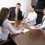 Дискуссия с сотрудниками в связи с изменением штатного расписания