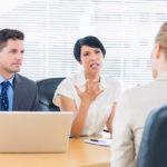 Собеседование с кандидатом на должность менеджера по продажам
