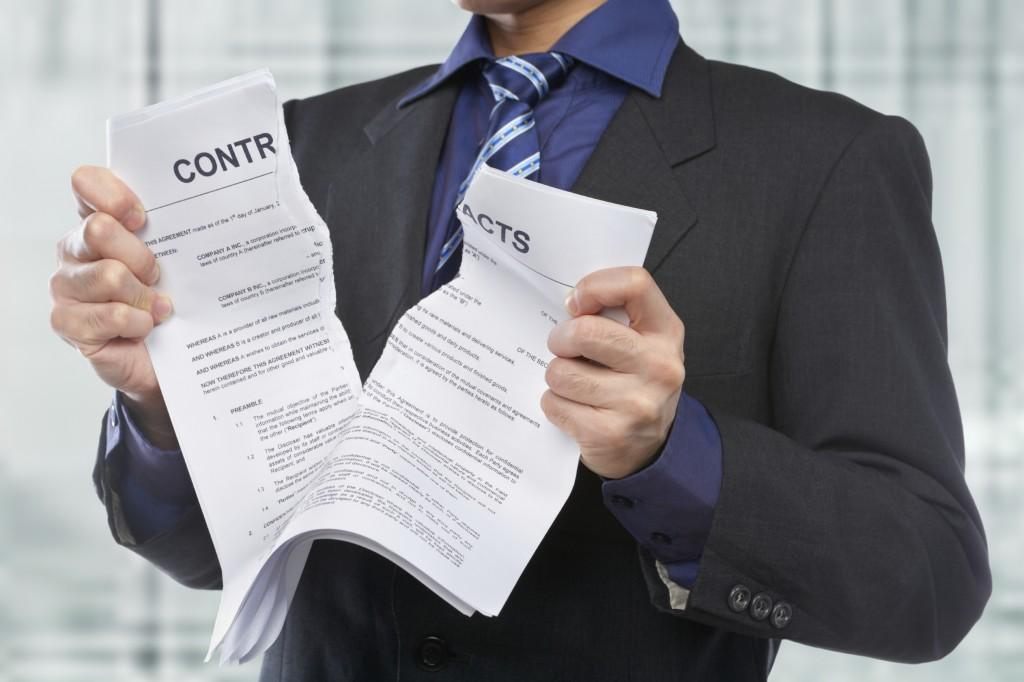 Досрочное расторжение трудового договора