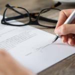Подпись о согласии с содержанием трудового договора