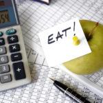 Время на оплату перерыва на еду не оплачивается
