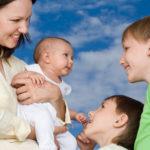 Трудовой стаж с одним и более детей