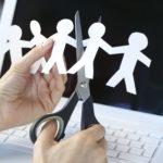 Сокращение количества рабочих мест