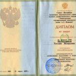 Документ об образования гражданина РФ