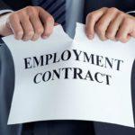 Основные причины увольнения с работы