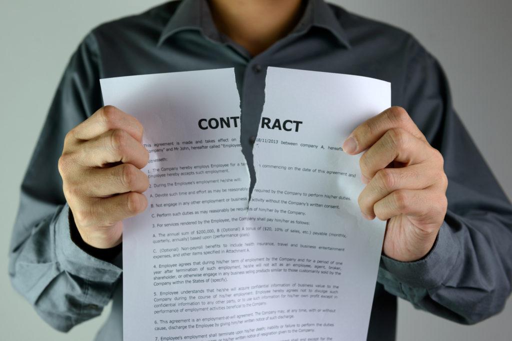 Прекращение трудового договора