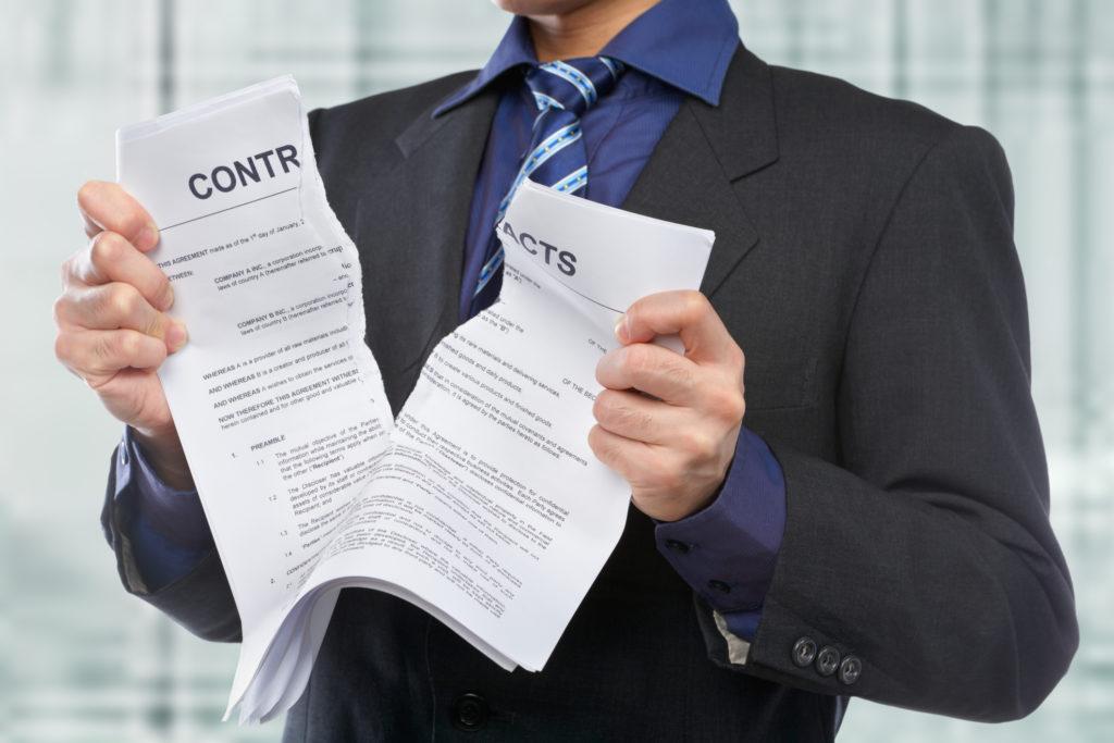 Уведомление о расторжении трудового договора с иностранным работником