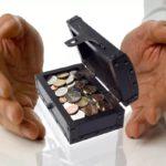 Доля пенсионных накоплений