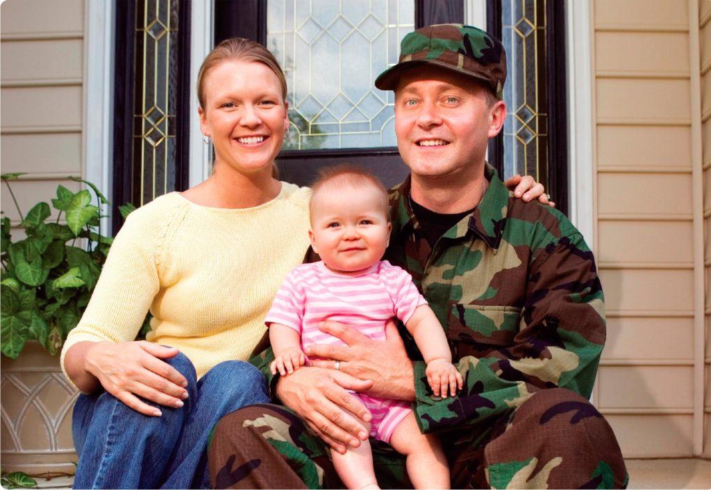Для жены военнослужащего