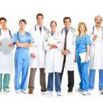 Список врачей для медосмотра